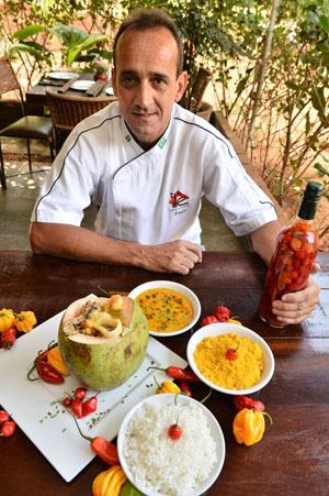 Paulo Maurício: forte presença do sabor africano (Monique Renne/CB/D.A Press)