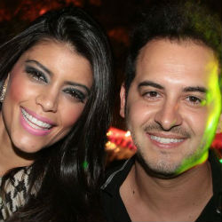 Sabrina Ribeiro e Alex Alves também se jogaram ao som da moça (Lula Lopes/Esp. CB/D.A.Press)