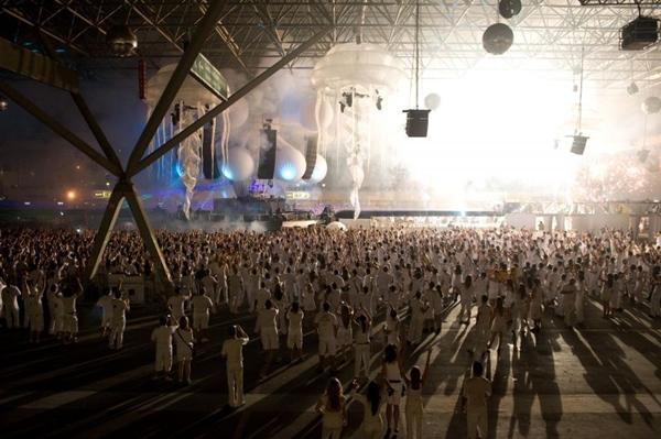 O evento Skol Beats é realizado em São Paulo neste fim de semana (Samuel Chaves/S4 Photopress)