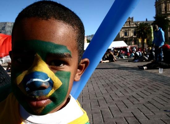 A exposição Antes da bola rolar foi feita pelo repórter Renato Alves e tem curadoria da fotógrafa Zuleika de Sousa (Renato Alves/CB/D.A Press)