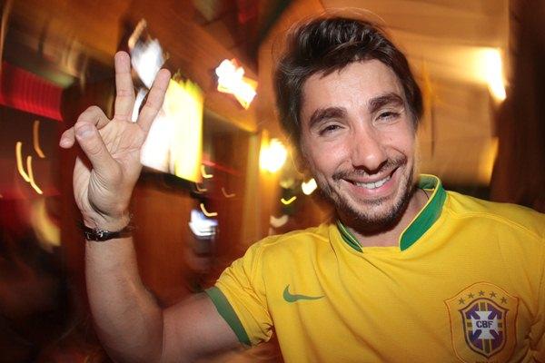 'O Brasil precisa melhorar para chegar na copa. Prefiro ganhar na Copa do Mundo do que ganhar somente na Copa das Confederações', Hugo Caetano (Lula Lopes/Esp. CB/D.A Press)