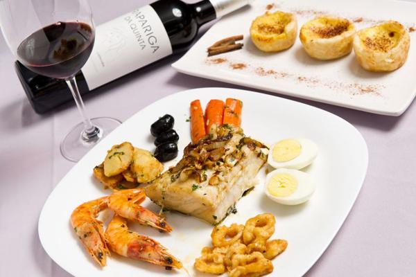 O bacalhau português é uma das variedades do menu do Bier Haus (Telmo Ximenes/Divulgação)