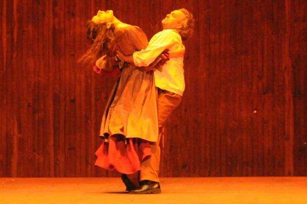 A ópera Carmen abriu o 3° Festival de Ópera de Brasília (Carlos Moura/CB/D.A Press)
