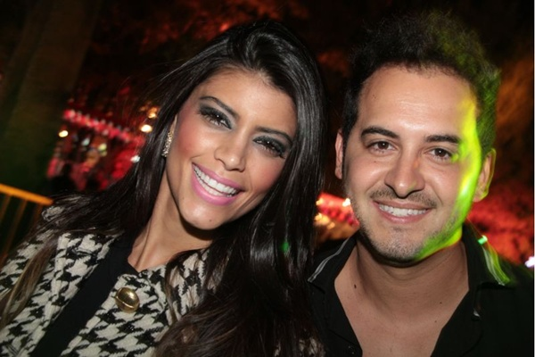 Sabrina Ribeiro e Alex Alves, durante a Santa Junina (Lula Lopes/Esp. CB/D.A Press)