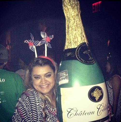 'Eita festa boa #afterdapreta #bailedapretanocentralpark', escreveu na legenda da foto (Reprodução/ Instagram)
