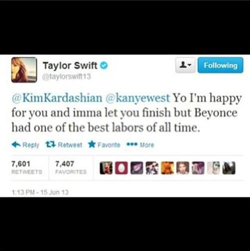 A cantora faz piada com o rapper e a esposa Kim Kardashian (Reprodução/ Twitter)