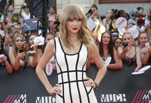 Taylor Swift dá troco em Kanye West após cinco anos desde MTV Movie Awards (Mark Blinch/Reuters/DA Press)