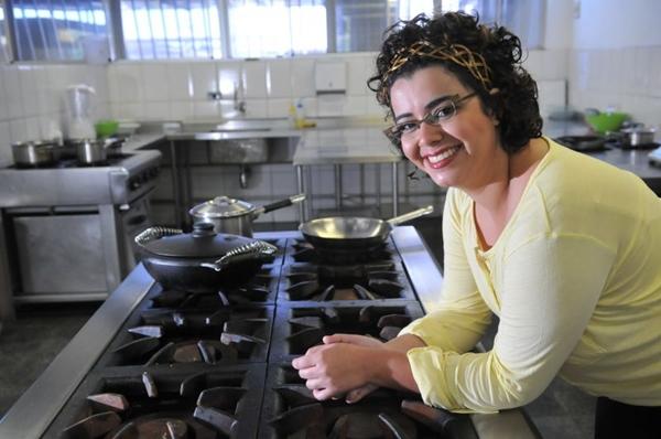 'Há pratos e restaurantes tradicionais que estão no imaginário do brasiliense', diz Marcelle Mamede,coordenadora do curso de gastronomia da Unieuro (Marcelo Ferreira/CB/D.A Press)