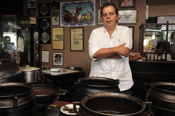 %u201COs últimos momentos de boas lembranças da vida dele foram comigo%u201D Jorge Ferreira dono do Feitiço Mineiro  (Ed Alves/CB/D.A Press)