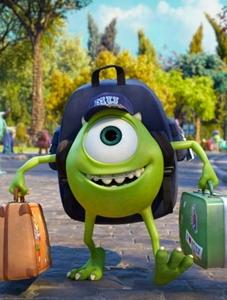 O filme acompanha as aventuras de um Mike mais novo (Disney Pixar/Divulgação)