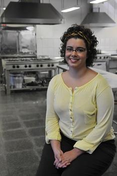 Marcelle Mamede, coordenadora do curso de Gastronomia, da Faculdade UniEuro (Marcelo Ferreira/CB/D.A Press)