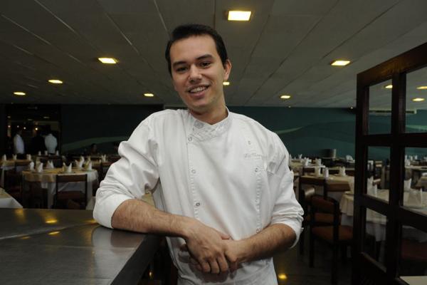 Chef brasiliense Lui Veronese (Zuleika de Souza/CB/D.A Press)