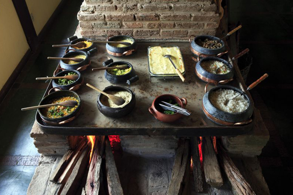 Às 13h, é servido o almoço: para grupos de, no mínimo, 20 pessoas (Rui Faquini/Divulgação)