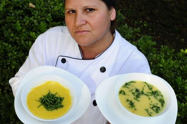 Elisabete Vargas: cremes de abóbora e de milho entre os mais pedidos (Edilson Rodrigues/CB/D.A Press)
