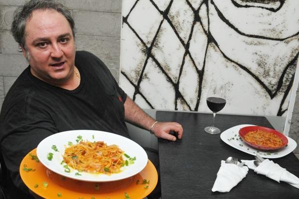 Segundo o chef Ninny, as cozinhas italianas são como as salas de estar brasileiras (Breno Fortes/CB/D.A Press)