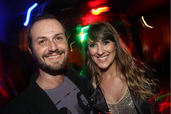 Gustavo Guimarães e Daniele Barreto (Lula Lopes/Esp. CB/D.A Press)