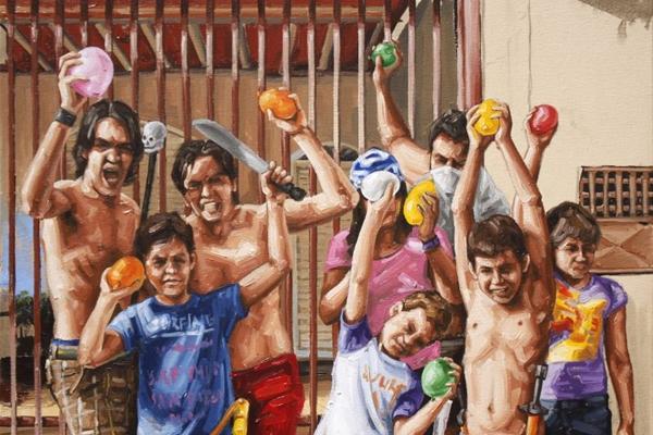 Obras do mineiro Fábio Baroli: imagens vibrantes e boa carga de ironia (Arquivo Pessoal)
