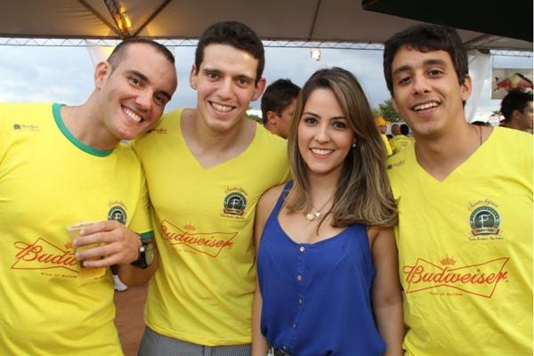 Anderson Magno, Vitor Vicente, Janaína Cavalcante e Lucas Marques (Lula Lopes/Esp. CB/D.A Press)