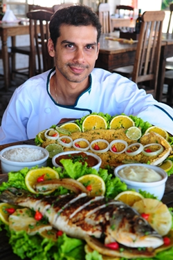 Peixes menos gordurosos e sem gosto de terra (Bruno Peres/CB/D.A Press)