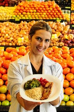 'Uma dieta muito restritiva tende a não durar muito tempo. Coisas gostosas têm que ser consumidas, sim. Nem que seja uma vez por semana'  ( Edilson Rodrigues/CB/D.A Press)