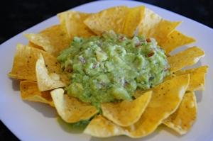 A guacamole do Tacolino: entrada para uma boa festa (Bruno Peres/CB/D.A Press)