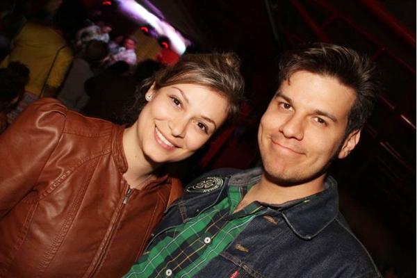 Gabi Neves e Lucas Billy (Lula Lopes/Esp. CB/D.A Press)