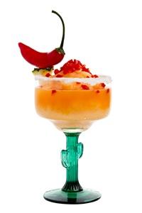 Margarita mandarina picante do El Paso (Telmo Ximenes/Divulgação)