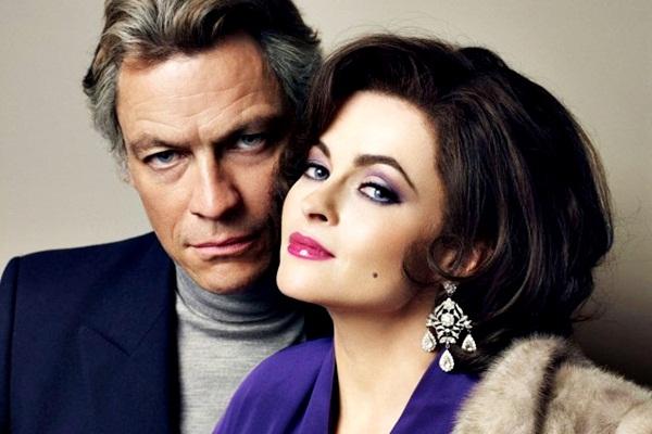 A atriz escolhida para interpretar Elizabeth Taylor é a atriz Helena Bonham Carter (Divulgação/Internet)