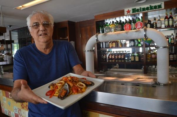'Considero esse prato (o jambalaia) a cara da miscigenação da colonização observada nos EUA' Fernando de la Rocque, chef  (Gustavo Moreno/CB/D.A Press)