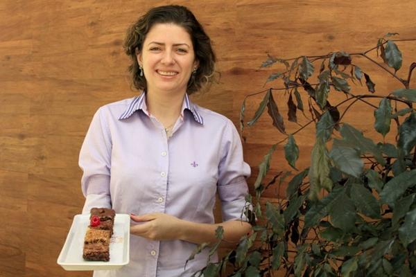 Natanri Fernanda aposta em receitas de doces americanos (Viola Júnior/Esp. CB/D.A Press)