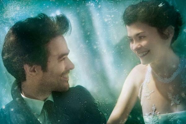 Audrey Tatou e Romain Duris voltam a fazer par romântico em A espuma dos dias, de Michel Gondry (Pandora/Divulgação)