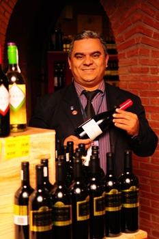 Olinaldo Oliveira: queda pelos vinhos franceses, portugueses e italianos (Bruno Peres/CB/D.A Press )