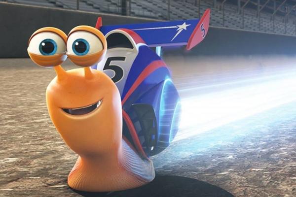 Contrariando a natureza dos caracóis, o protagonista de Turbo quer ser piloto de corridas (DreamWorks/Divulgação)