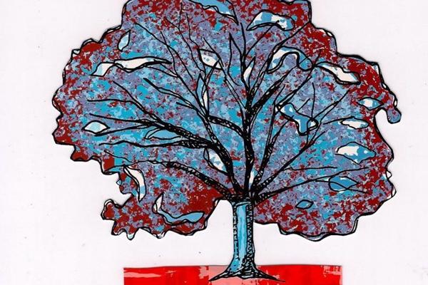 Obra de Cristina Bottallo: variações do mesmo tema em A árvore da vida (Museu Vivo da Memória Candanga/Divulgação)