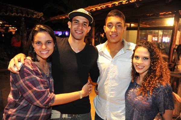Amanda Bosco, Jefferson Vidal, Lorran Perez e Mariah Santos (Luis Xavier de França/Esp. CB/D.A Press)