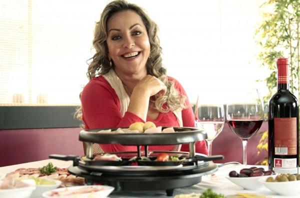 Sônia Fujimoto e raclete: um dos destaques do menu do La Bonne (Viola Júnior/Esp. CB/D.A Press)