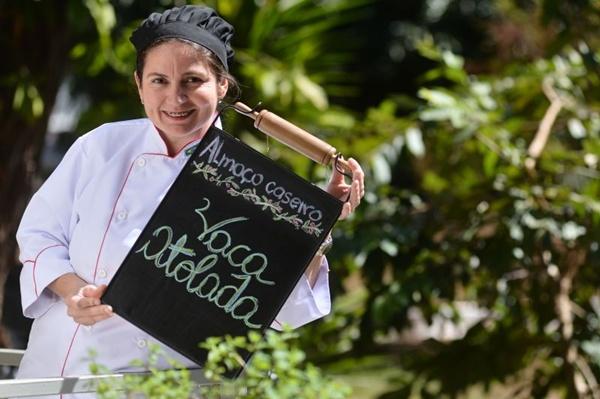 Raquel Panza: vaca atolada e seus vários passos (Monique Renne/CB/D.A Press)
