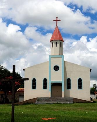 Igreja Matriz: símbolo de tradição e religiosidade no coração da cidade goiana (Bruno Peres/CB/D.A Press)