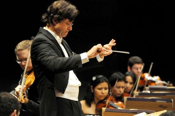 A Orquestra Sinfônica do Teatro Nacional apresentará um repertório com peças dos gênios Mozart, Haydn, Mendelsohn e Villa-Lobos (Carlos Vieira/CB/D.A Press)