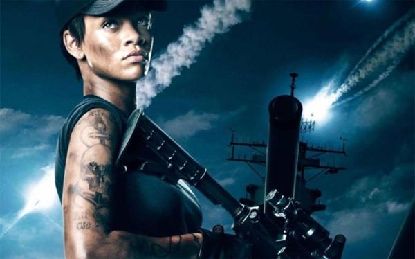 A cantora Rihanna está no elenco da ação Battleship - A batalha dos mares (Universal Pictures/Divulgação)