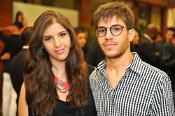 Sara Tozetti e Rafael Araújo, na Mokaï (Luis Xavier de França/Esp. CB/D.A Press)