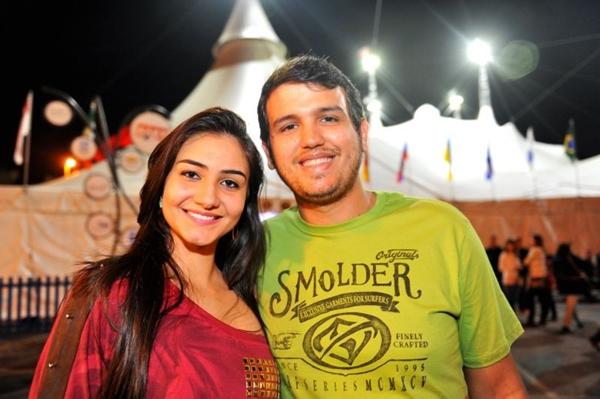 Tainara Miranda de Andrade e Fernando Barbosa (Luis Xavier de França/Esp. CB/D.A Press)