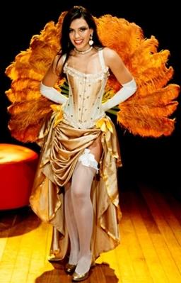 Paula Rosa é uma das dançarinas que se apresentam no espetáculo (João Vasconcelos/Divulgação)