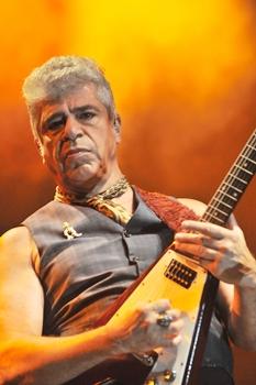 Lulu Santos vai dividir o palco com Nando Reis (Antonio Cunha/CB/D.A Press)