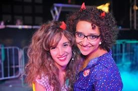 Marcela Montalvão e Laura Brasil (Luis Xavier de França/Esp. CB/D.A Press)