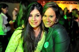 Amanda Machado e Isabella Castro (Luis Xavier de França/Esp. CB/D.A Press)