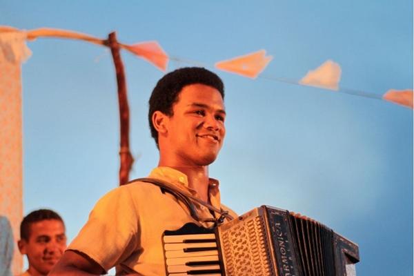 Ator Land Vieira, na cena do filme Gonzaga - De pai para filho (João Linhares/Divulgação)