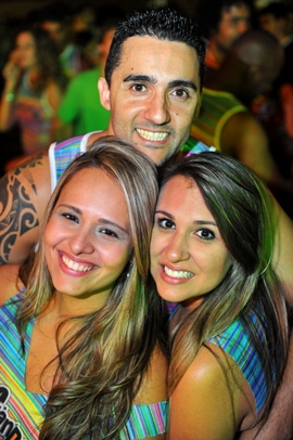 Juliana Machado, Rafael Mauro e Carol Costa (Luis Xavier de França/Esp. CB/D.A Press)