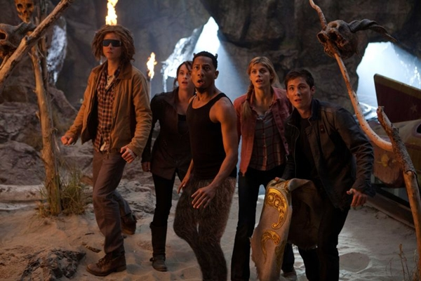 Cena de Percy Jackson e o mar de monstros: sequências divertidas animam a trama (Fox Filmes/Divulgação)