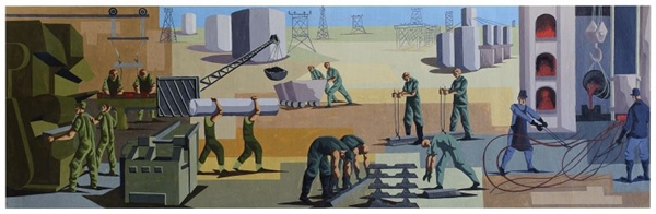 As pinturas ficarão expostas até 20 de outubro (Caixa Cultural/Divulgação)